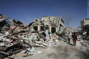 Il terremoto ad Haiti nel 2010