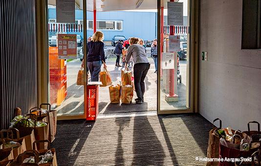 Coronavirus: l'impatto delle vostre donazioni in Svizzera