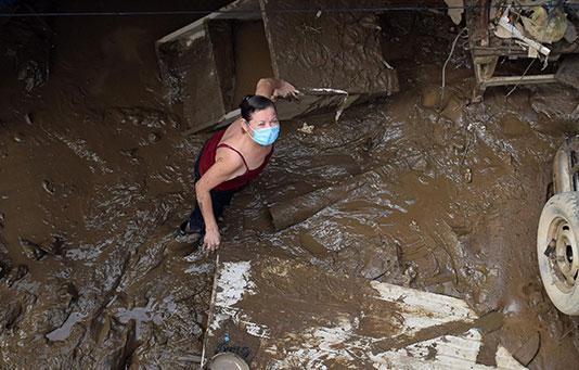 L'America centrale devastata dagli uragani – Mettiamo a disposizione un milione di franchi per gli aiuti d'urgenza