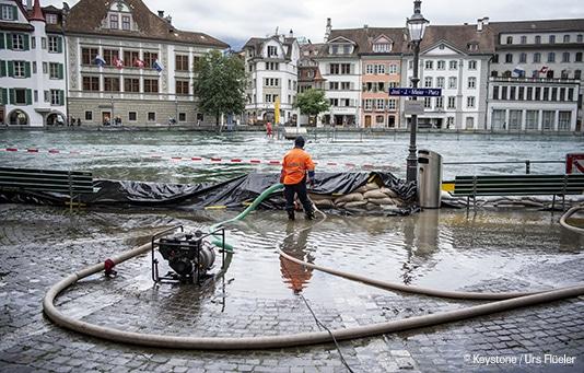 Intemperie in Svizzera: Sostegno per i casi più critici grazie al fondo permanente per catastrofi naturali
