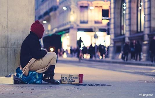 Un sostegno per le persone senzatetto e socialmente escluse in Svizzera